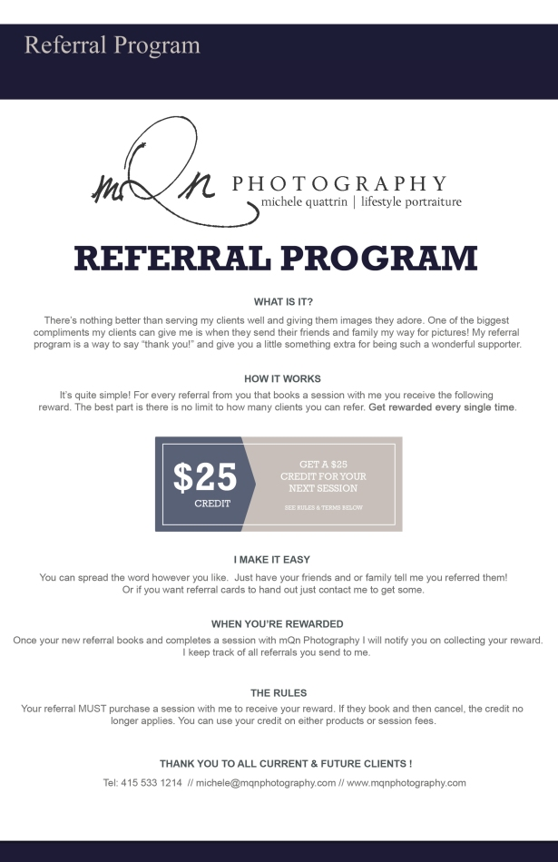 July referral program copy