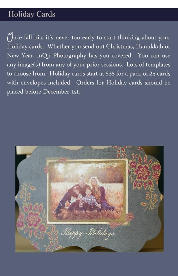 September Christmas Card Sneak Peek