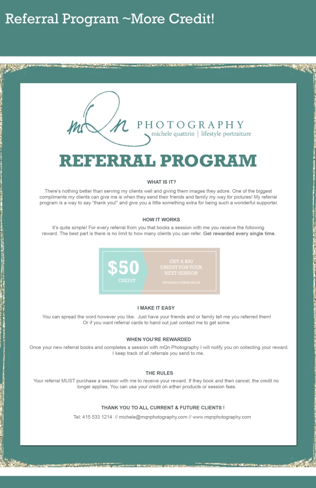 July referral program copy