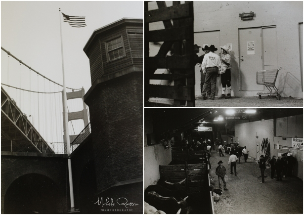 Film images; mQn Photography as photography student Fort Point and Rodeo in San Francisco circa 1998