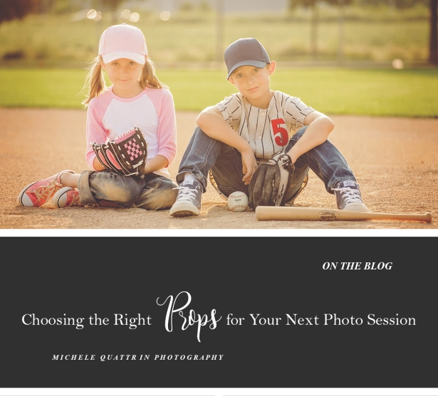 Choosing the right props for your photo session